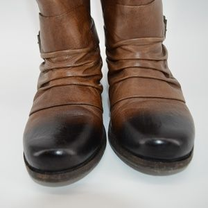 Vince Camuto Shoes - Vince Camuto  distressed leather boots